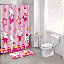 Walmart Purple Bathroom Sets by Licensed 14pc Bath Set Hello Kitty Walmart Com