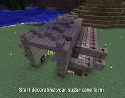 Minecraft Redstone Glowstone Lamp by Sugar Rush How To Make An Automatic Sugarcane Farm In Minecraft