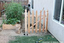 100 Building A Garden Gate From Wood Build An Easy DIY Fence No 2 Pencil