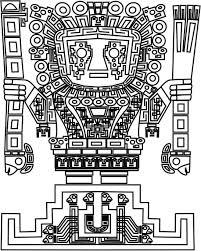 Buffalo Page De Coloriage On Free Printable Totem Pole Coloring Png 2401x1611 Printable Totem Pole Buffalo Coloriage Totem Pole