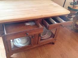 Bob Timberlake Living Room Furniture by Lexington Bob Timberlake Oak Butcher Block Kitchen Island Rare