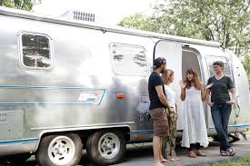 100 Restoring Airstream Travel Trailers Dream Team These Women The Country Turning Retro