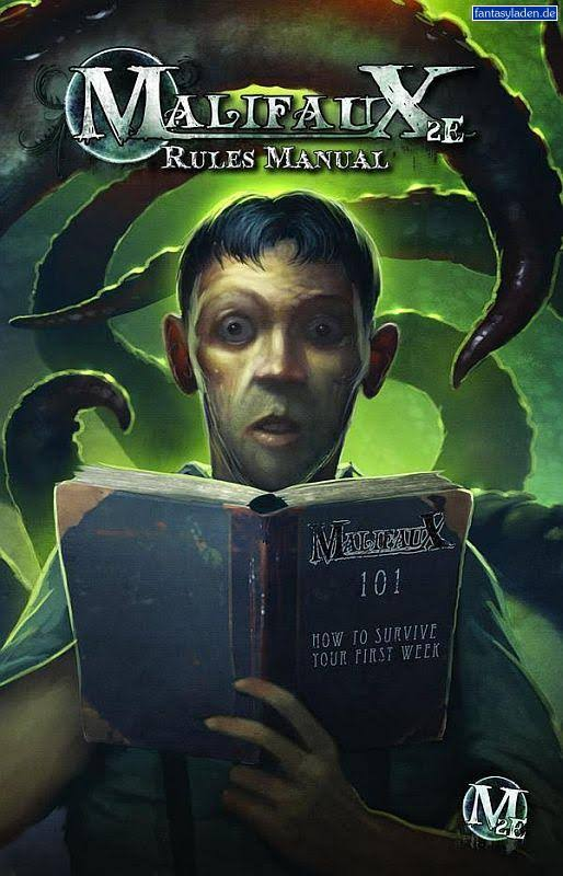 Wyrd Miniatures Malifaux 2nd Edition Rules Manual