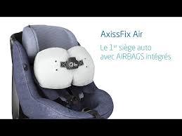 siege auto obligation bébé confort lance le premier siège auto avec airbags l argus