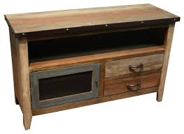 Industrial Style Tv Stand Rustic Farmhouse Media Console Entertainment Centers And