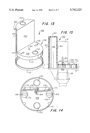 Ceiling Fan Joist Hangers by Patent Us5762223 Electrical Box For Ceiling Fan Support Google