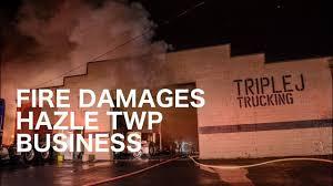100 Triple T Trucking Fire Damages J Rucking Hazle Wp Pa 12162018 Youube
