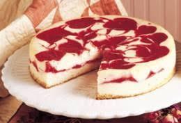 Cherry Swirled Cheesecake in Diana s Recipe Book