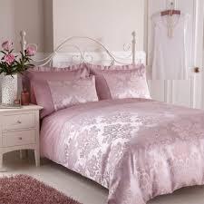Charlotte Thomas Anastasia Duvet Cover in Dark Pink