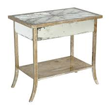 nightstand appealing side table target mirrored furniture with