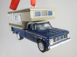 100 67 Dodge Truck 19 D100 With Camper Pickup Christmas Tree