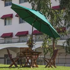 Ebay Patio Table Umbrella by 9 U0027 Patio Umbrella Market Outdoor Table Umbrella With Auto Tilt