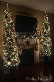 9 Ft Pre Lit Pencil Christmas Trees by 25 Best Ideas About Skinny Christmas Tree On Pinterest