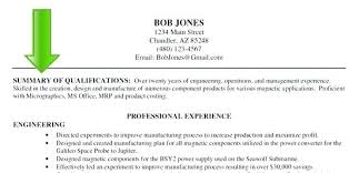 Resume Summary Examples For Executive Assistant Samples Gallery Of Professional Example