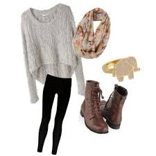 Winter Hipster Outfits For Girls 2