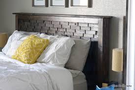 Ana White Upholstered Headboard by Bed Headboard Diy Interiors Design