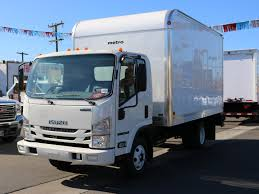 New 2017 Isuzu NPR Regular Cab, Dry Freight | For Sale In Pasadena, CA