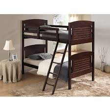 broyhill kids nantucket twin over twin bunk bed espresso