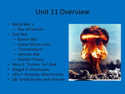 Iron Curtain Warsaw Pact Apush by Apush Unit 11 Outline Vus 10 11 And 12 World War Ii Cold War