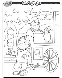 Crayolas Spring Coloring Pages
