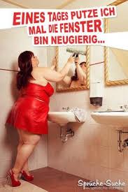 bad putzen lustige sprüche bilder