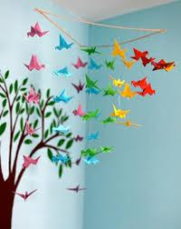 origami chambre bébé décoration origami chambre bebe originale 96 nimes 16462128