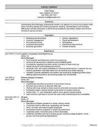Newest Retail Store Manager Cv Resume Examples Management Example Managemen Large Size