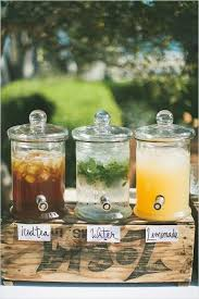 Wedding Rustic Decorations Glass Dispensers For Sale Canada