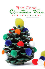 Pine Cone Christmas Tree Ornaments Crafts by Pine Cone Christmas Tree