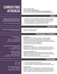 Architect Resume Templates Software Examples Beautiful Samples