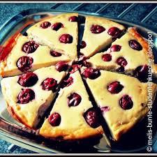 veganer käse kuchen mit kirschen 3 8 5