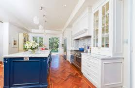View In Gallery Radiant Blue A Stunning White Kitchen