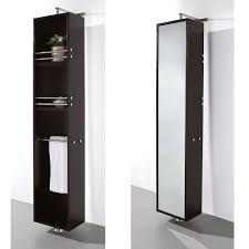 Bathroom Vanity Tower Dimensions by Linen Tower U0026 360 Degree Rotating Floor Cabinet With Full Length