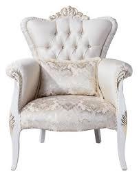 casa padrino luxus barock wohnzimmer sessel mit dekorativem kissen creme weiß gold 83 x 94 x h 111 cm wohnzimmer möbel im barockstil