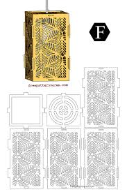 Laser Cut Lamp Dxf by Leaves Laser Cut Wooden Pendant Light Shades Drawings
