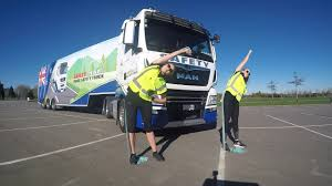 100 Truck Association Healthy Driver Exercise Demonstration NZ Ing