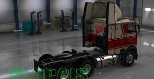 Freightliner FLB Reskin With Sherman Bros. Paintjob For ATS -Euro ...