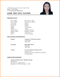 General Resume Objective Examples Philippines Inspirational Ixiplay Free Samples