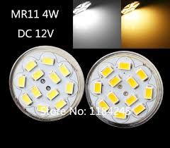 gu4 mr11 4w 400 lumen 12 led 5730 smd light energy saving