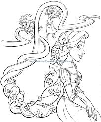 Cool Princess Colouring Pages 6