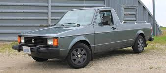 The Volkswagen Rabbit Pickup Is Everything A Truck Shouldn't Be ...