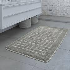 design badematte rutschfester badvorleger badezimmer teppich