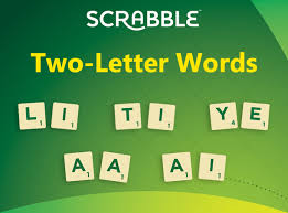 Two Letter Words to play on Scrabble Day Scrabble Blog Scrabble