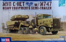 100 Het Military Truck M911 CHET WM747 Equipment SemiTrailer FindModelKitcom