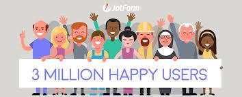 JotForm Celebrates 3 Million Users