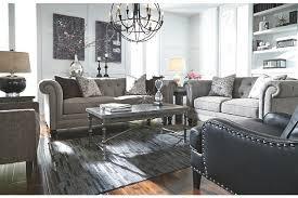 Nolana Charcoal Sofa Set by Ardenboro Loveseat Ashley Furniture Homestore