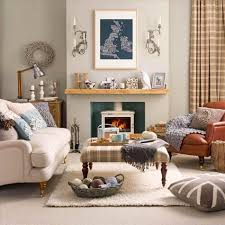 Image Of Country Living Room Borders