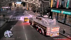 100 Gta 4 Fire Truck Mod GTA IV FDLC Fighter Movable Ladder Truck YouTube