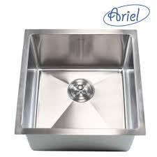 Undermount Bar Sink White by Ariel 26 Inch Stainless Steel Undermount Single Bowl Kitchen Sink