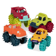 100 Mini Monster Trucks Copy Of Battat Set Of 6 For